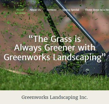 Green Works – Website Development