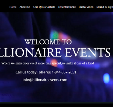 Billionaires Event